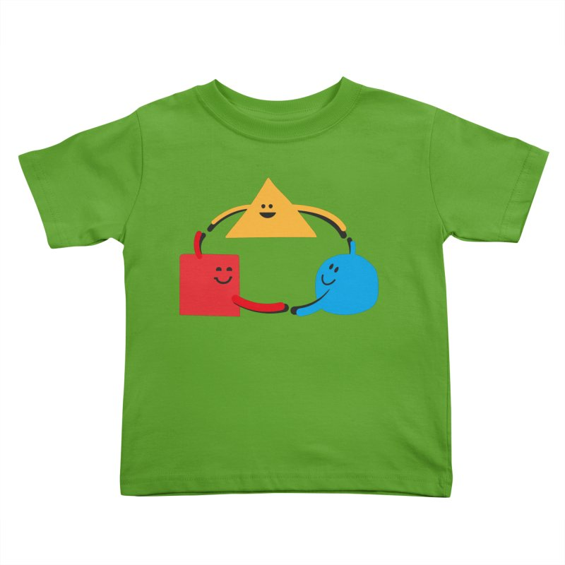 THE DANCE OF DIVERSITY Kids Toddler T-Shirt by sustici's Artist Shop