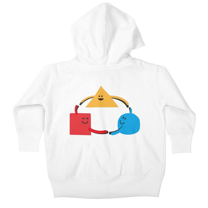 THE DANCE OF DIVERSITY Kids Baby Zip-Up Hoody by sustici's Artist Shop