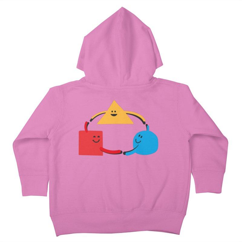 THE DANCE OF DIVERSITY Kids Toddler Zip-Up Hoody by sustici's Artist Shop