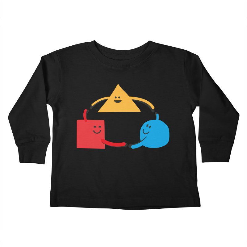 THE DANCE OF DIVERSITY Kids Toddler Longsleeve T-Shirt by sustici's Artist Shop