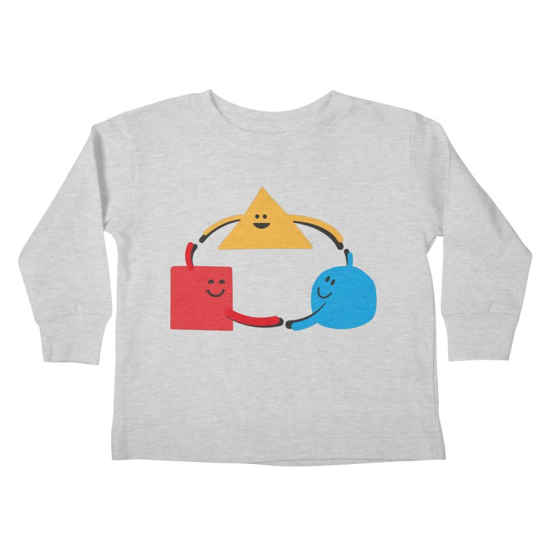 THE DANCE OF DIVERSITY Kids Toddler Longsleeve T-Shirt by sustici's Artist Shop
