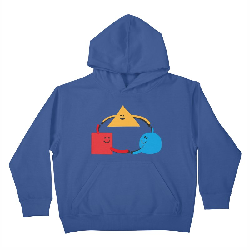 THE DANCE OF DIVERSITY Kids Pullover Hoody by sustici's Artist Shop