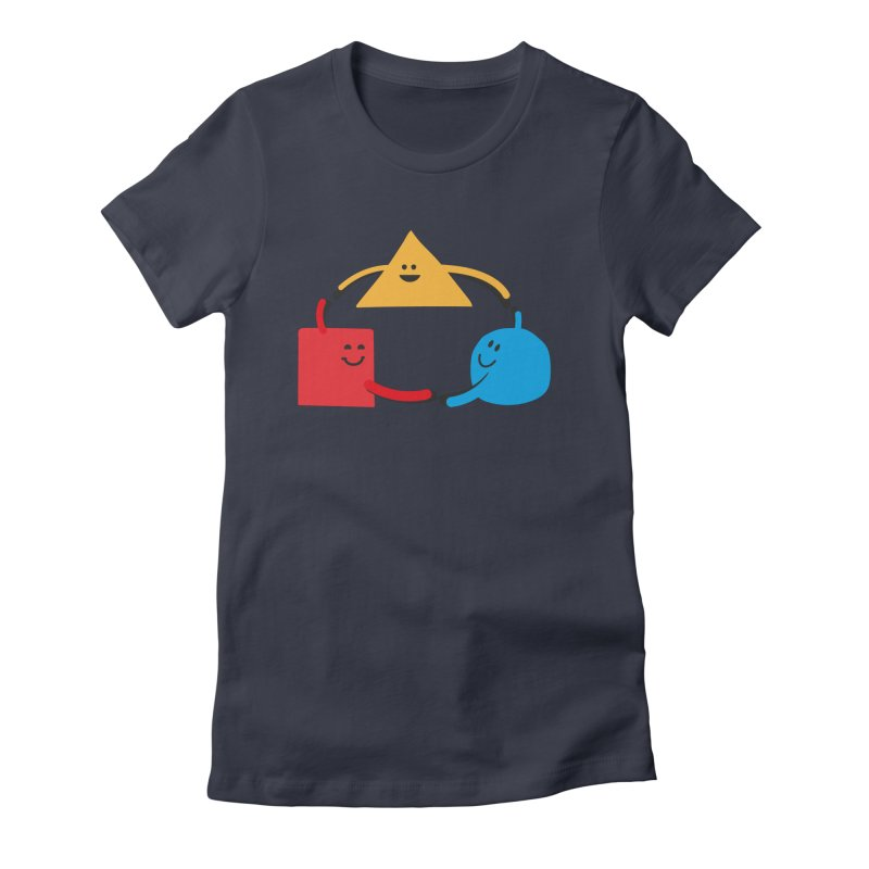 THE DANCE OF DIVERSITY Women's T-Shirt by sustici's Artist Shop