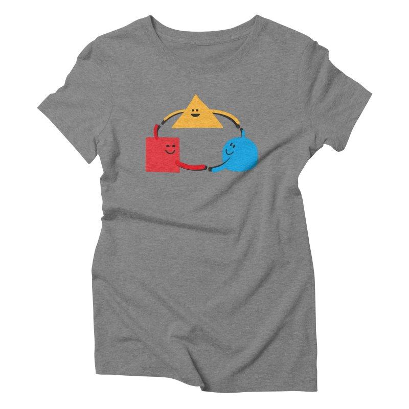 THE DANCE OF DIVERSITY Women's Triblend T-Shirt by sustici's Artist Shop