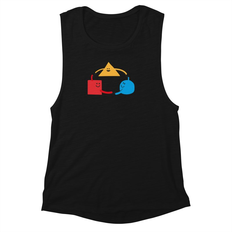 THE DANCE OF DIVERSITY Women's Tank by sustici's Artist Shop