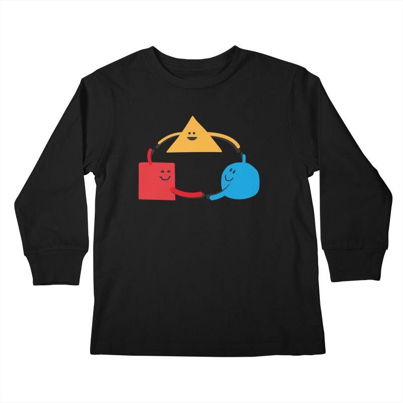 THE DANCE OF DIVERSITY Kids Longsleeve T-Shirt by sustici's Artist Shop