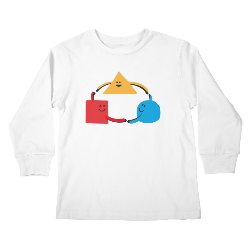 THE DANCE OF DIVERSITY Kids Longsleeve T-Shirt by sustici's Artist Shop