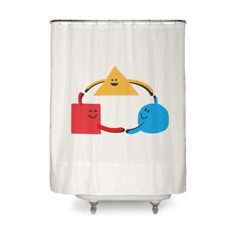 THE DANCE OF DIVERSITY Home Shower Curtain by sustici's Artist Shop