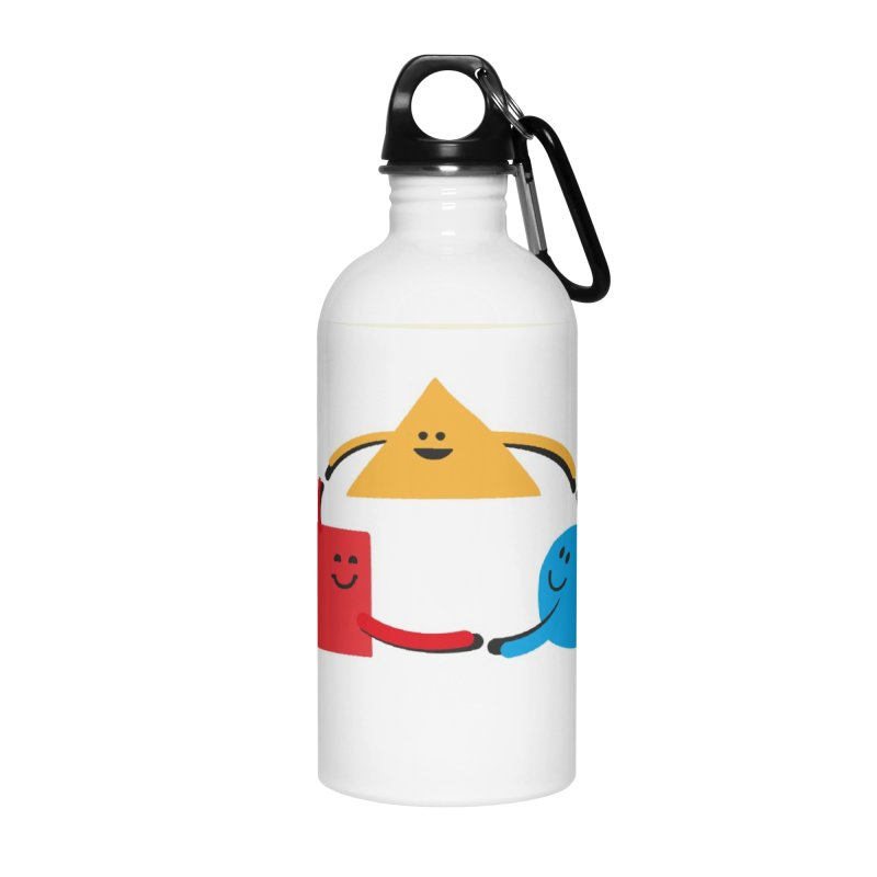 THE DANCE OF DIVERSITY Accessories Water Bottle by sustici's Artist Shop