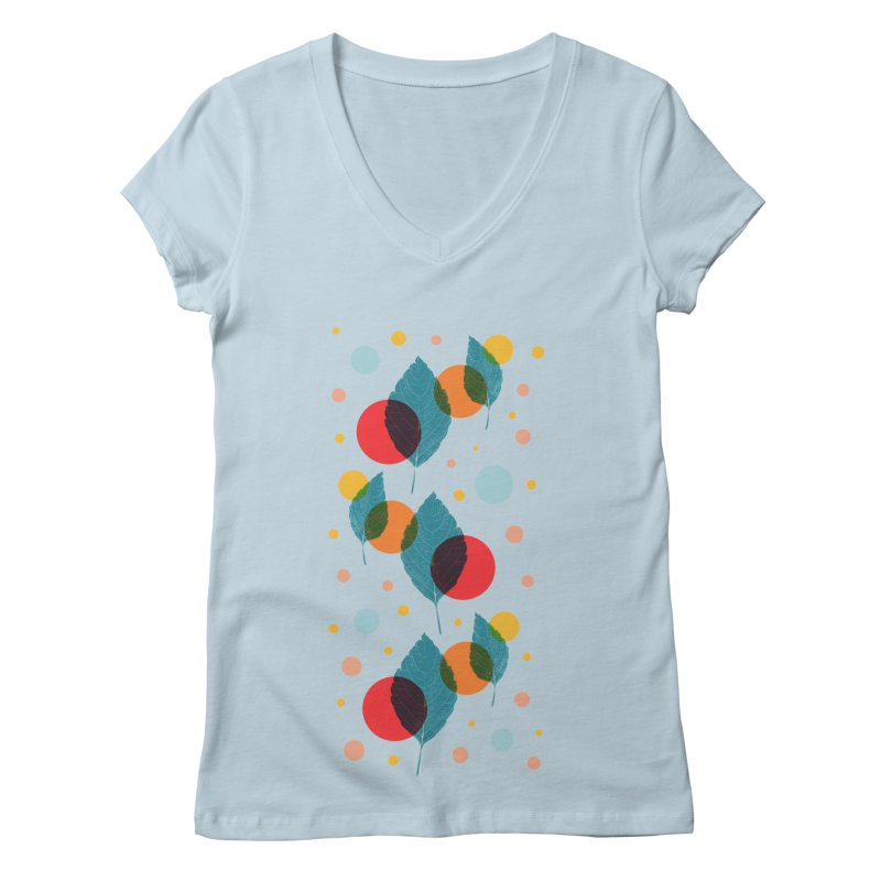 Achoo! Women's V-Neck by sustici's Artist Shop