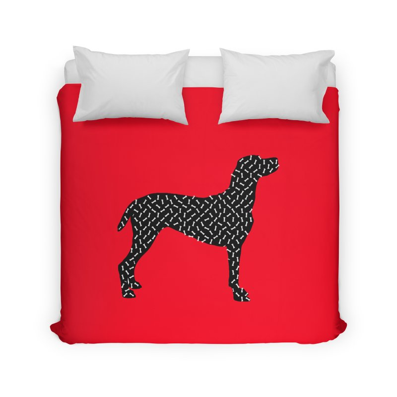 the greedy dog Home Duvet by sustici's Artist Shop