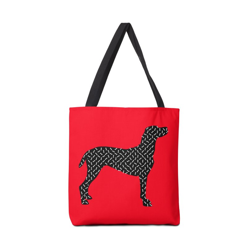 the greedy dog Accessories Bag by sustici's Artist Shop