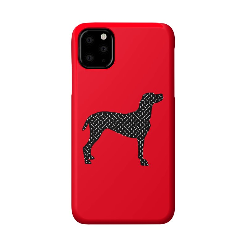 the greedy dog Accessories Phone Case by sustici's Artist Shop
