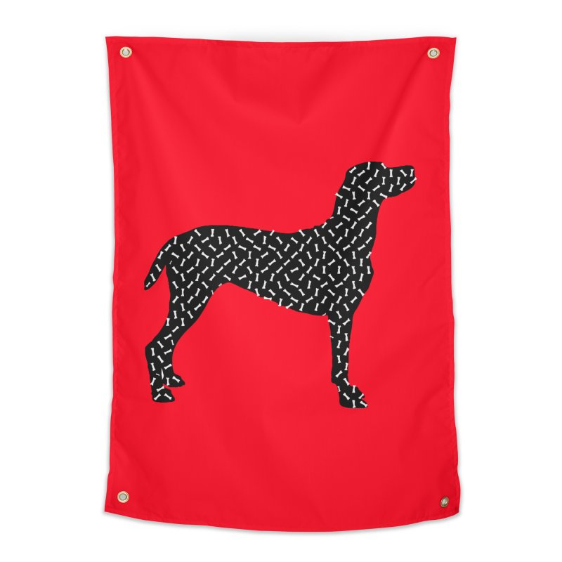 the greedy dog Home Tapestry by sustici's Artist Shop
