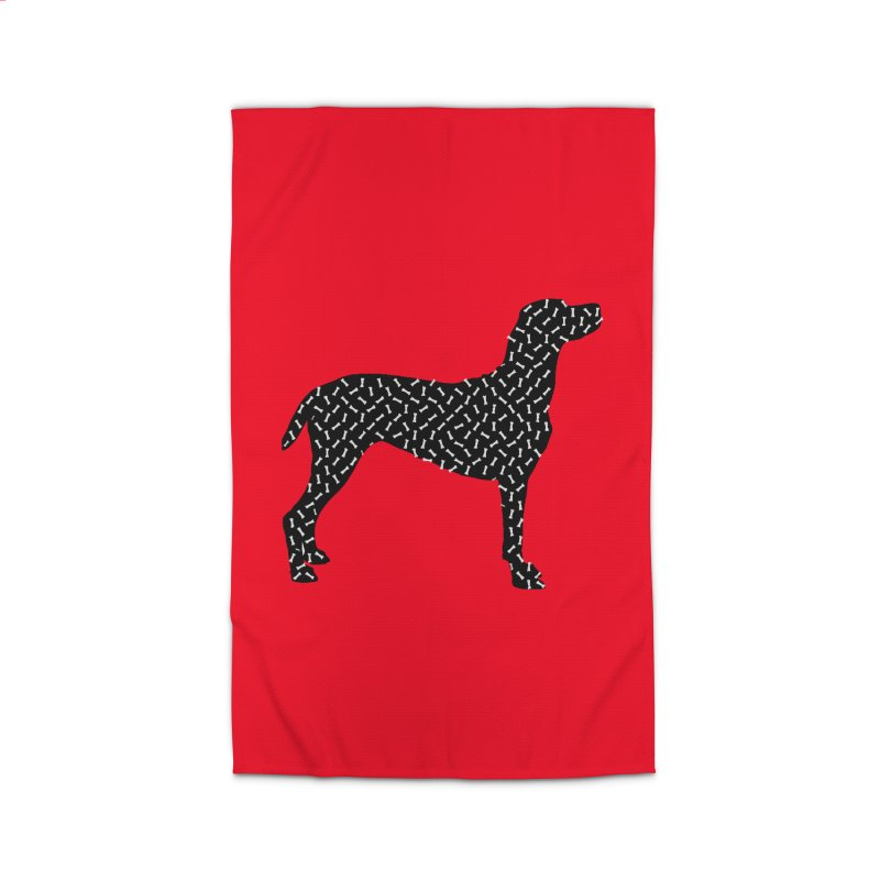 the greedy dog Home Rug by sustici's Artist Shop