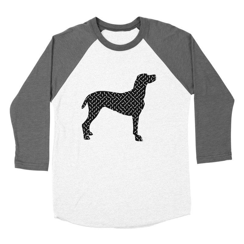 the greedy dog Women's Longsleeve T-Shirt by sustici's Artist Shop
