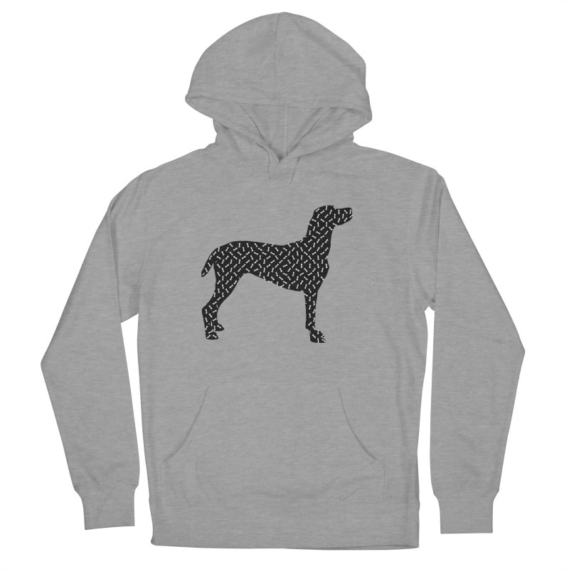the greedy dog Women's French Terry Pullover Hoody by sustici's Artist Shop