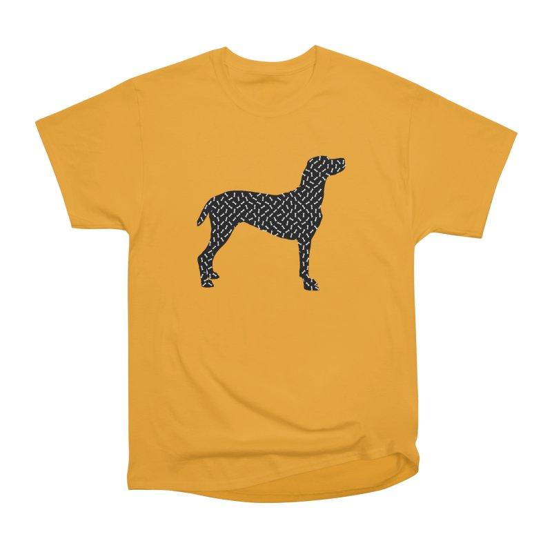 the greedy dog Women's Heavyweight Unisex T-Shirt by sustici's Artist Shop