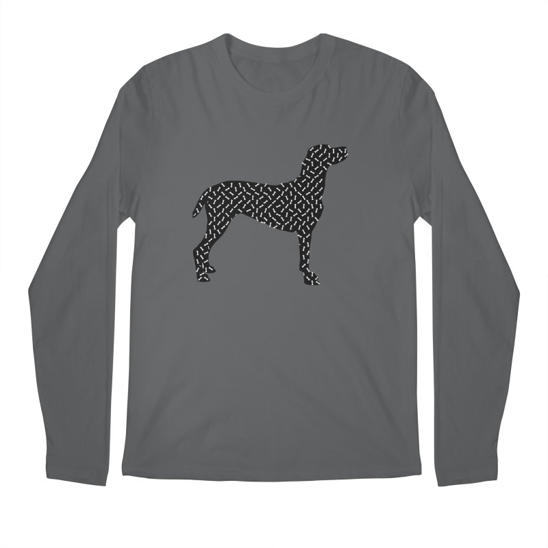 the greedy dog Men's Longsleeve T-Shirt by sustici's Artist Shop