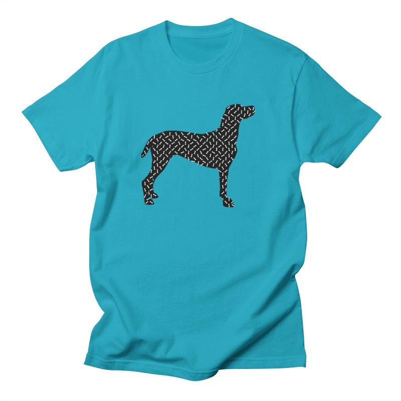 the greedy dog Men's Regular T-Shirt by sustici's Artist Shop