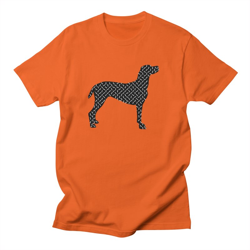 the greedy dog Men's T-Shirt by sustici's Artist Shop