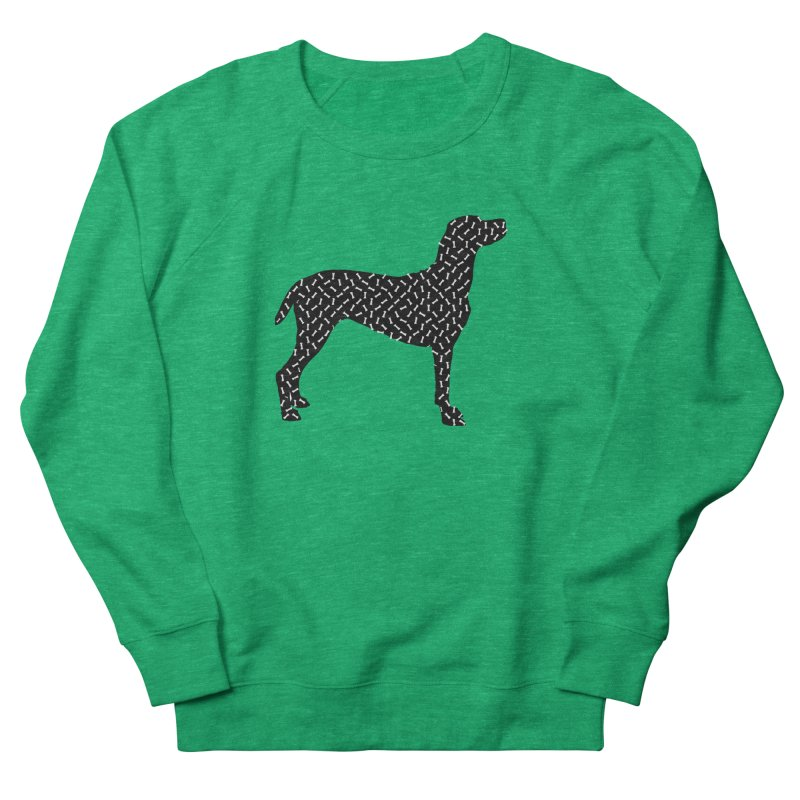 the greedy dog Women's Sweatshirt by sustici's Artist Shop
