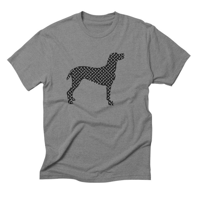 the greedy dog Men's Triblend T-Shirt by sustici's Artist Shop