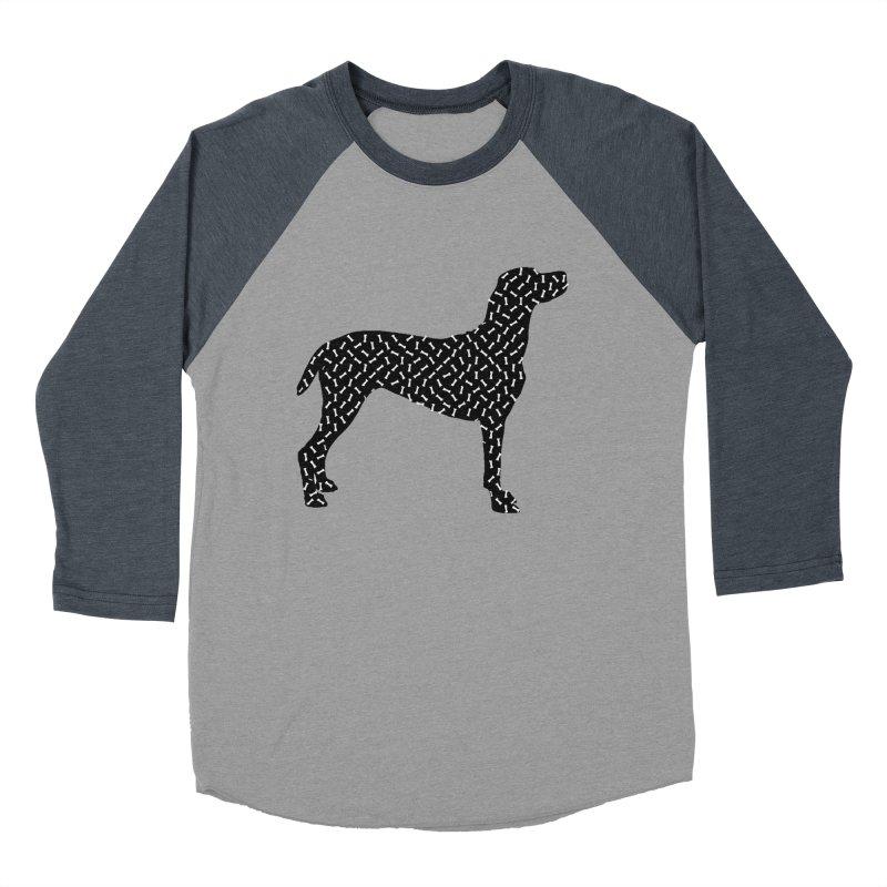 the greedy dog Men's Baseball Triblend Longsleeve T-Shirt by sustici's Artist Shop