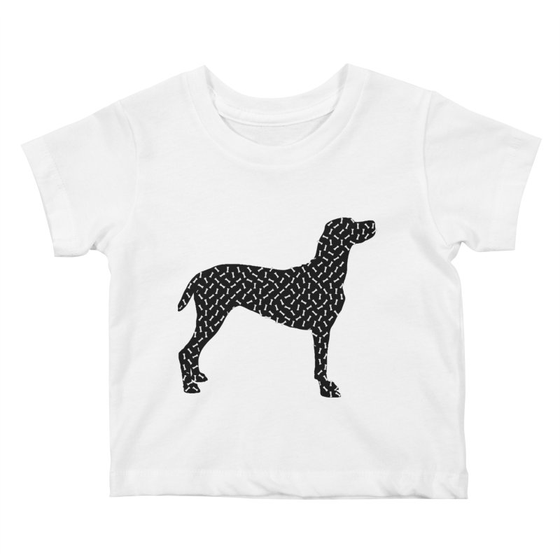 the greedy dog Kids Baby T-Shirt by sustici's Artist Shop