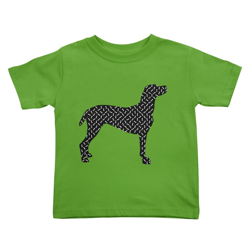 the greedy dog Kids Toddler T-Shirt by sustici's Artist Shop