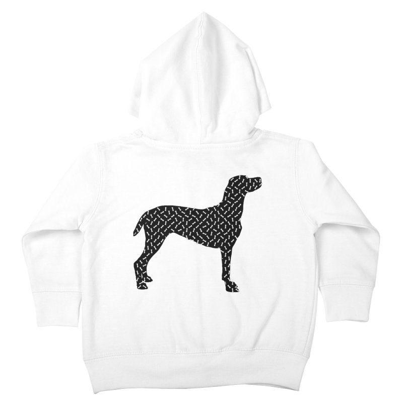 the greedy dog Kids Toddler Zip-Up Hoody by sustici's Artist Shop