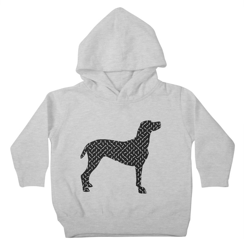 the greedy dog Kids Toddler Pullover Hoody by sustici's Artist Shop