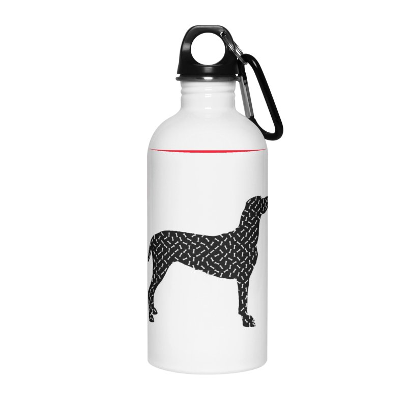 the greedy dog Accessories Water Bottle by sustici's Artist Shop