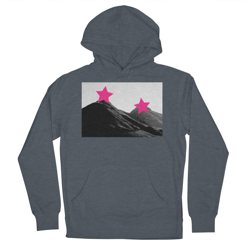 Censored Landscape Women's French Terry Pullover Hoody by sustici's Artist Shop