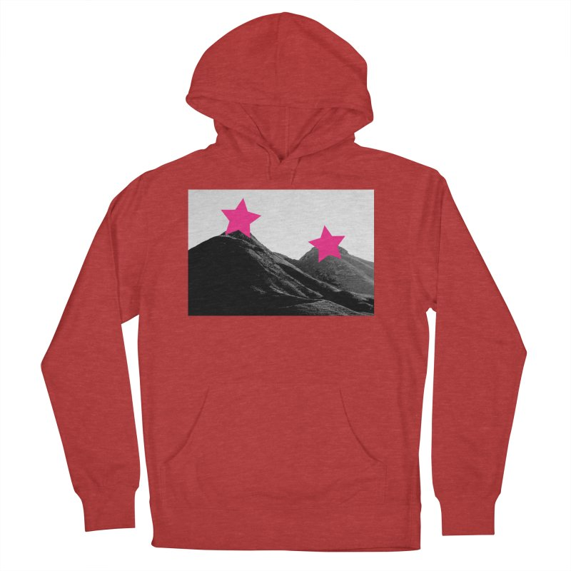 Censored Landscape Men's French Terry Pullover Hoody by sustici's Artist Shop