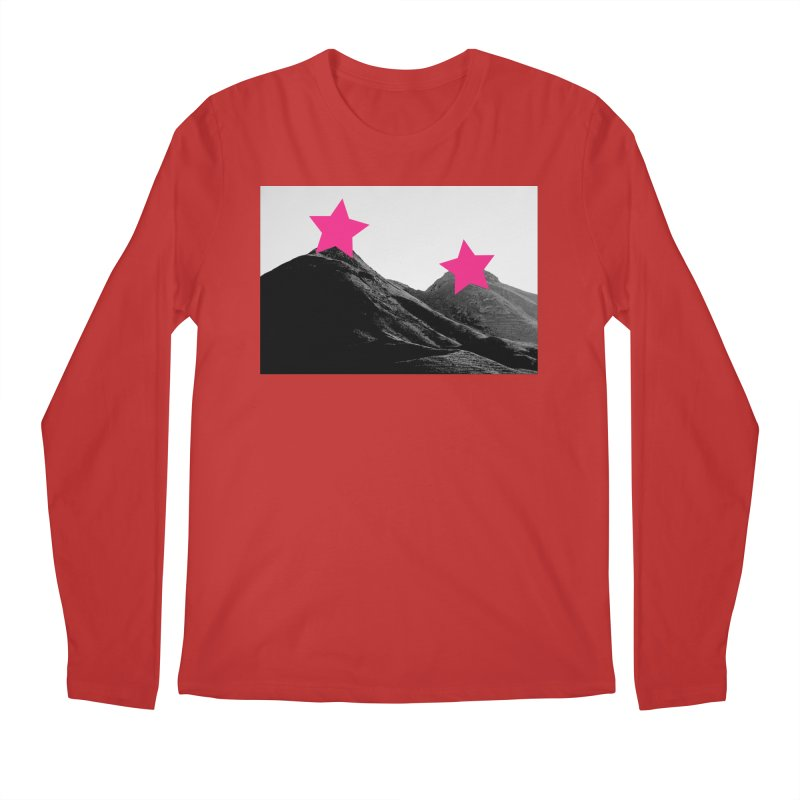 Censored Landscape Men's Regular Longsleeve T-Shirt by sustici's Artist Shop