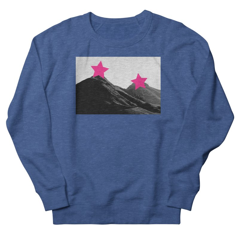 Censored Landscape Women's French Terry Sweatshirt by sustici's Artist Shop