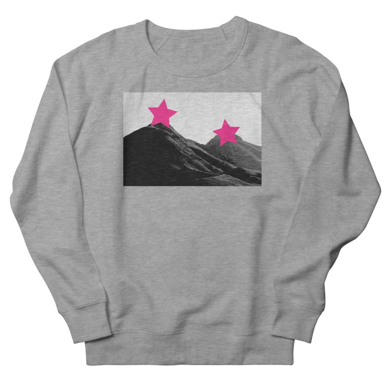 Censored Landscape Women's French Terry Sweatshirt by sustici's Artist Shop