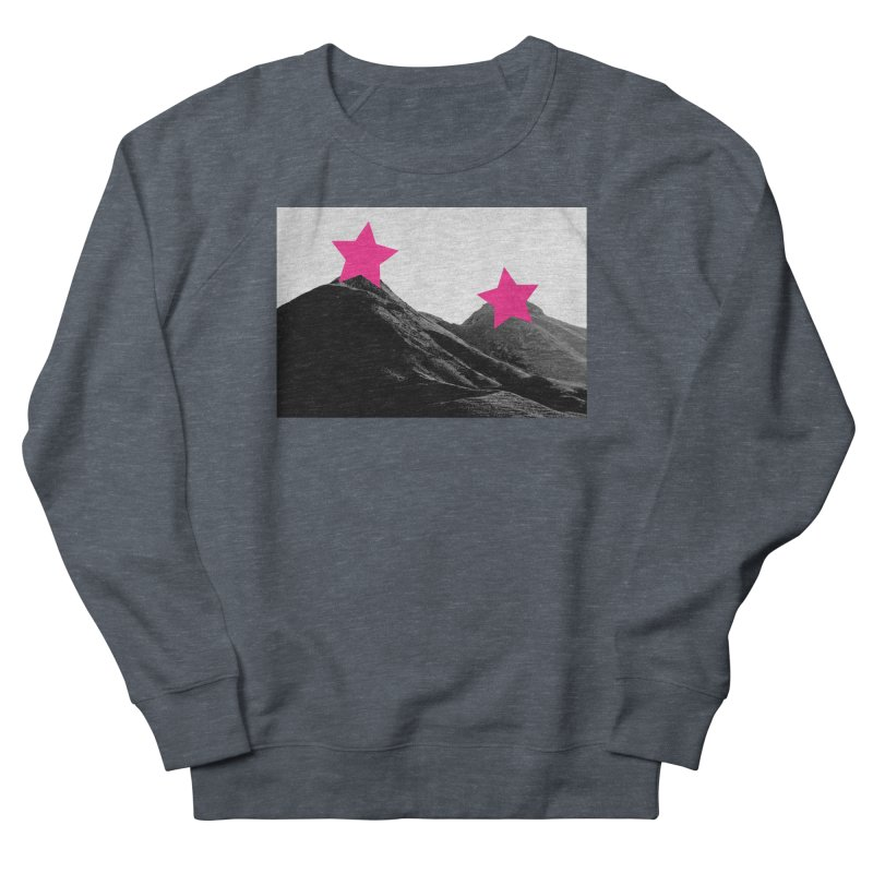 Censored Landscape Men's French Terry Sweatshirt by sustici's Artist Shop