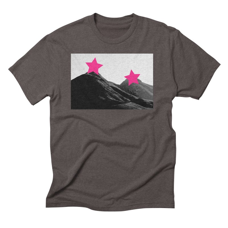 Censored Landscape Men's Triblend T-Shirt by sustici's Artist Shop