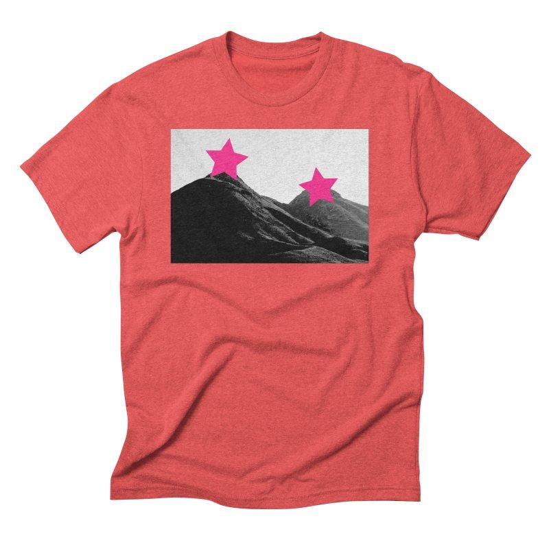 Censored Landscape Men's Triblend T-Shirt by sustici's Artist Shop