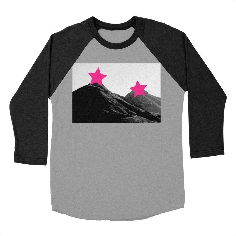 Censored Landscape Women's Baseball Triblend Longsleeve T-Shirt by sustici's Artist Shop