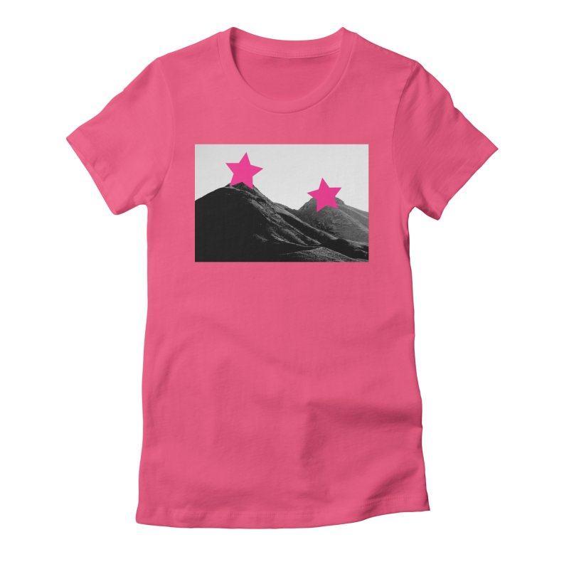Censored Landscape Women's Fitted T-Shirt by sustici's Artist Shop