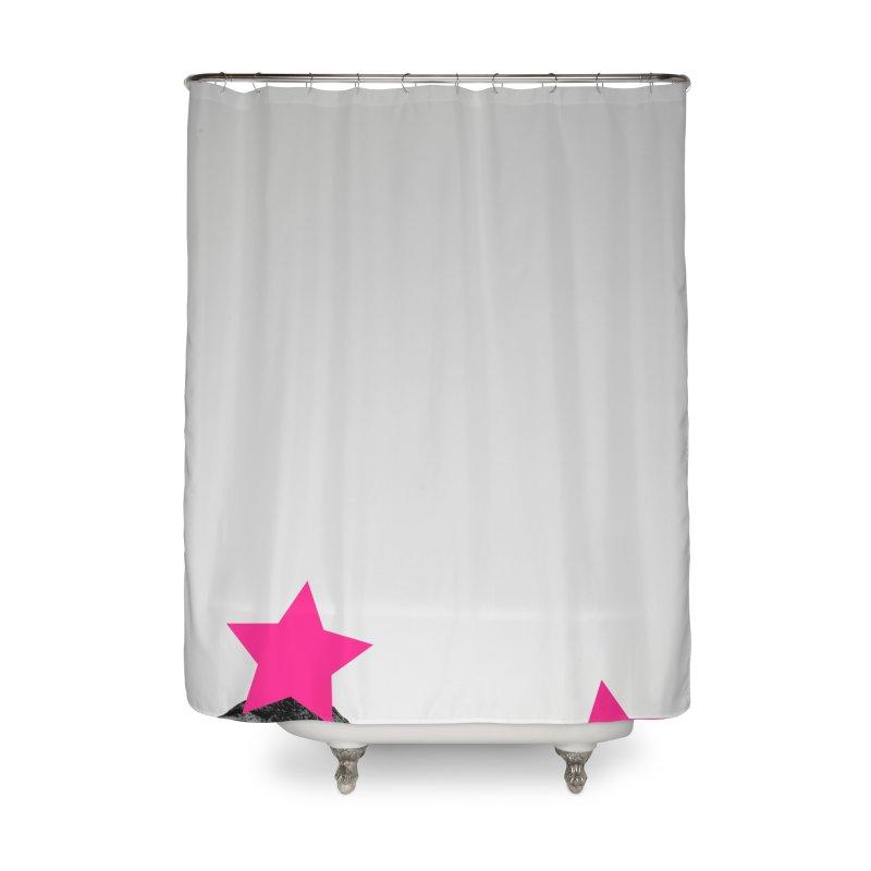 Censored Landscape Home Shower Curtain by sustici's Artist Shop