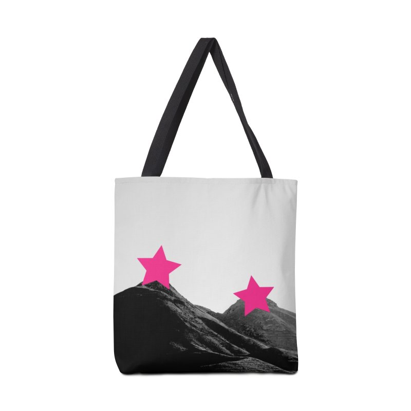 Censored Landscape Accessories Tote Bag Bag by sustici's Artist Shop