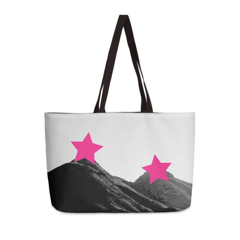 Censored Landscape Accessories Weekender Bag Bag by sustici's Artist Shop