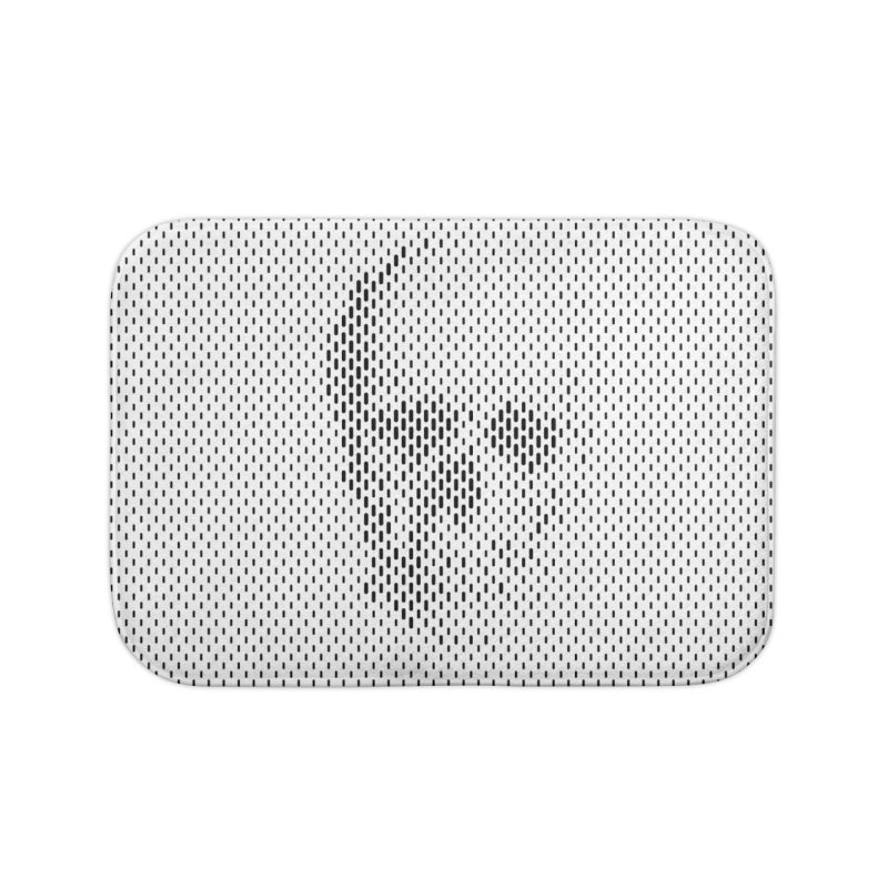 Almost Skull Home Bath Mat by sustici's Artist Shop