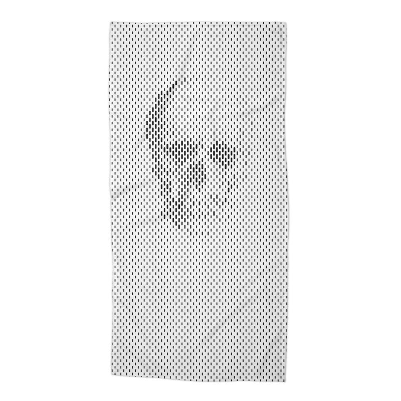 Almost Skull Accessories Beach Towel by sustici's Artist Shop