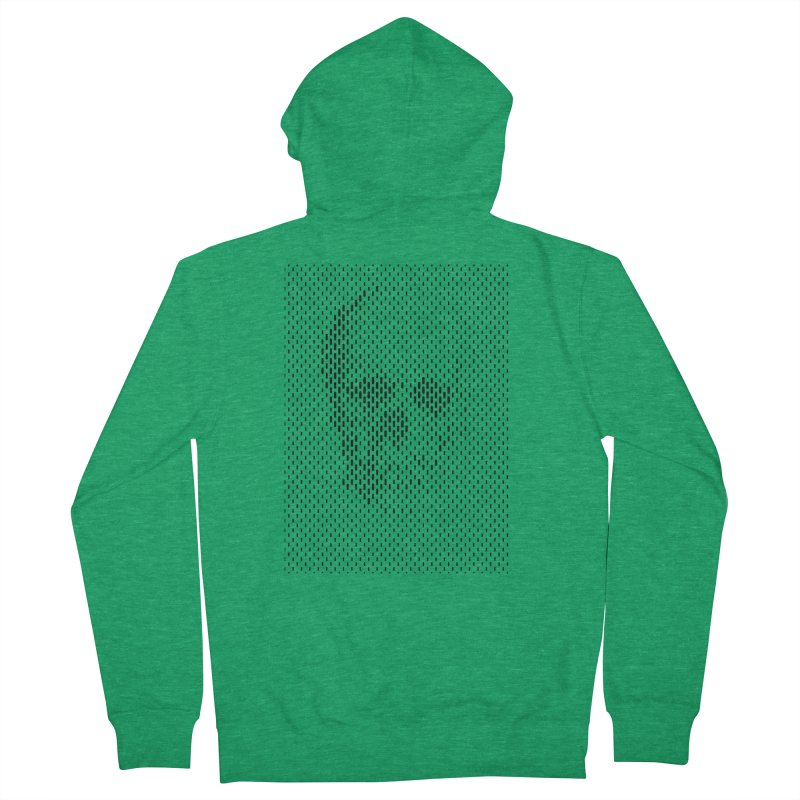 Almost Skull Women's Zip-Up Hoody by sustici's Artist Shop