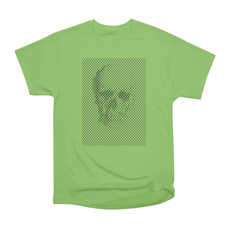 Almost Skull Men's Heavyweight T-Shirt by sustici's Artist Shop